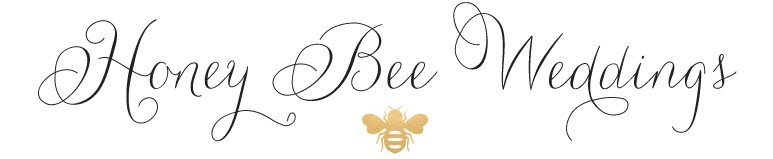 Honey Bee Wedding Logo
